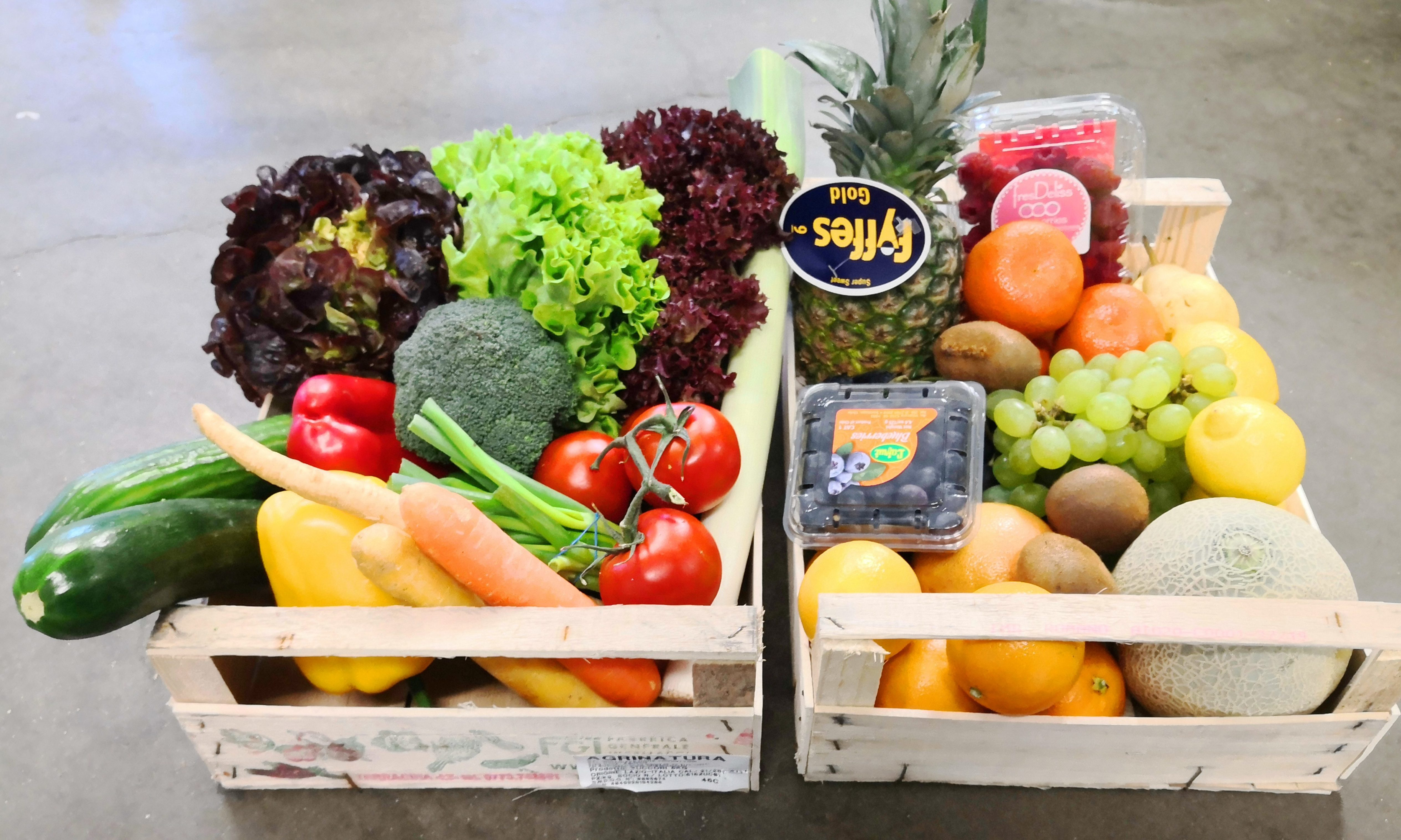Obst- und Gemüsekisterl